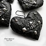 Dekorácie - Rockové srdce - 6347401_