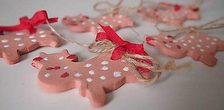 Dekorácie - Veľkonočné kravičky - 6350639_