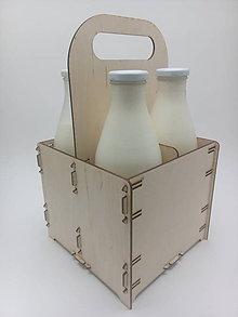 Krabičky - Nosič na 4 fľaše - 6350423_