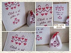 Úžitkový textil - Chlieb a soľ, zdobia stôl - 6350164_