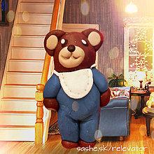 Hračky - Medvedia rodinka (syn) - 6351392_