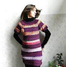 Tehotenské/Na dojčenie - Šaty s květinou - 6352433_