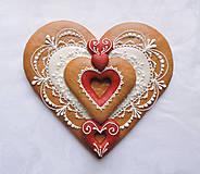 Medovníkové srdce - Môj Valentín