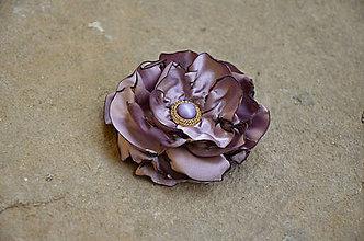 Odznaky/Brošne - Brošňa - čajová ruža - 6353025_