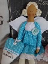 Bábiky - Tyrkysový anjelik - 6352749_