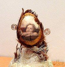 Dekorácie - Veľkonočné vajíčko - 6355597_
