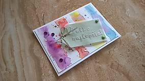 Papiernictvo - Narodeninová pohľadnica - 6353116_