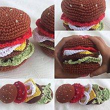 Hračky - Hamburger - 6351861_