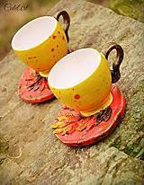 Ohnivý Fénix (picollo) - šálka na kávu