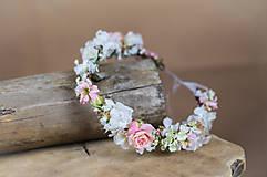"""- Svadobný venček """"keď rozkvitne ruža"""" - 6353470_"""