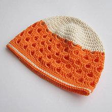 Detské čiapky - Dierkovaná čiapka - 100% bavlna - 6355984_