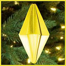 Dekorácie - Vianočný špic simple (s prechodom) - 6354741_