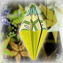 Dekorácie - Vianočný špic ornamentový (1) - 6354822_