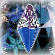 Dekorácie - Vianočný špic ornamentový (5) - 6354831_