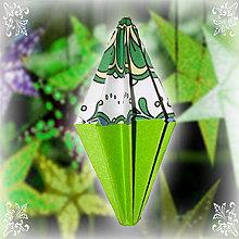 Dekorácie - Vianočný špic ornamentový - 6354833_