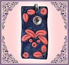 Náhrdelníky - Kvitnúca riflovina - prívesok - 6355549_