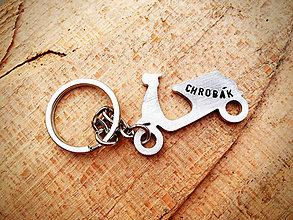 Kľúčenky - SKÚTER / 2mm hrúbka - 6360533_