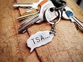 Kľúčenky - TSA... :) / 2mm hrúbka - 6360606_