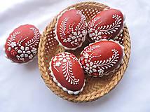 Dekorácie - Medovníková Kraslica červená 3D - 6358408_