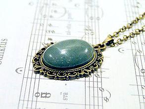 Náhrdelníky - Bronze Green Aventurine - 6356440_