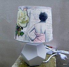Svietidlá a sviečky - Romantická lampa - 6356542_
