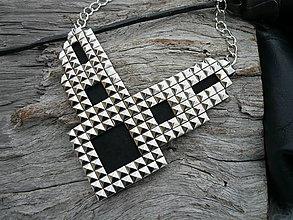 Náhrdelníky - Náhrdelník ROCK nikl - 6359020_