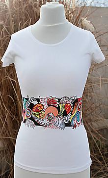 Tričká - Tričko - Farebné Zentangle - 6361194_