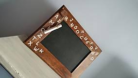 """Tabuľky - Buková tabuľka """"abeceda"""".... - 6358491_"""