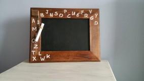 """Tabuľky - Buková tabuľka """"abeceda"""".... - 6358495_"""
