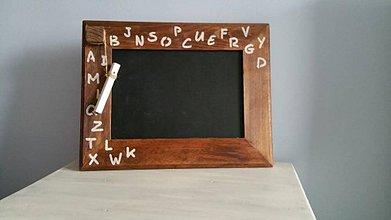 Tabuľky - Buková tabuľka