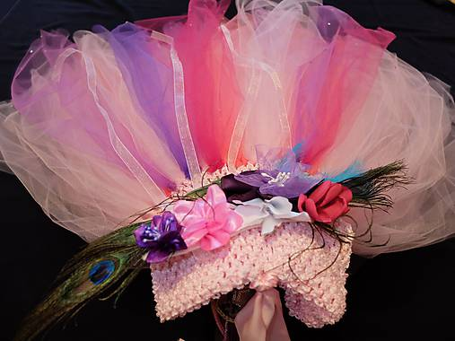 62af2c319df3 Kvetinová princezná - tylové šaty   mironella - SAShE.sk - Handmade ...