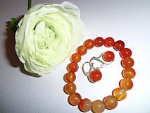 Sady šperkov - súprava jeseň a kameň - 6358887_