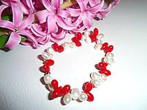 Náramky - uplakaný koral náramok - 6359037_