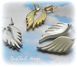 Náušnice - S anjelom po boku... - 6358435_