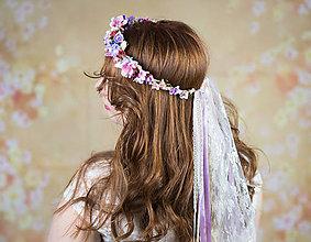 Ozdoby do vlasov - Svadobný venček