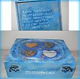 Krabičky - Krabica na Valentína so želanym textom :) - 6357344_