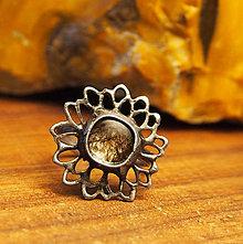 Prstene - Prsteň Kvet - 6356797_