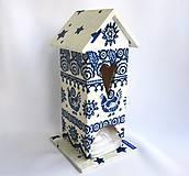 - Domček na čaj - modrotlač - 6363862_