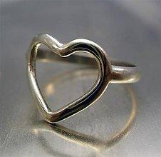 Prstene - srdiečkový - 6362124_