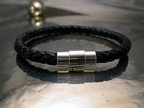 Šperky - bionet black 6 mm - 6362953_