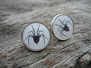 Náušnice - Náušnice Black Widow - 6363982_
