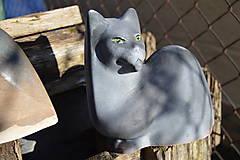 Socha - Mačka