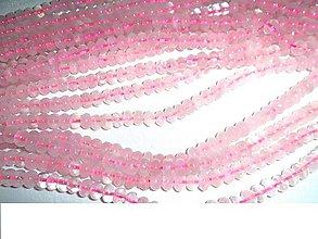 Minerály - ruženín korálky disky - 6361886_