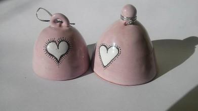 Darčeky pre svadobčanov - zvončeky na lásku:) - 6363031_