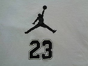 Tričká - maľované tričko Jordan - 6364247_