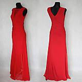 Šaty - Elastické spoločenské šaty s tylovou sieťkou rôzne farby - 6363509_