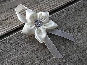Pierka - Krémový svadobný pierko - 6364484_