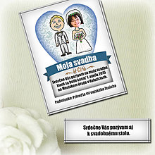 Papiernictvo - Svadobné oznámenie - svadba naslepo - 6364713_