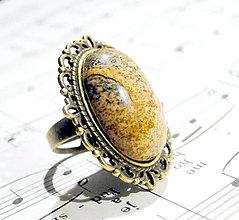Prstene - Antique Picture Jasper - 6368543_