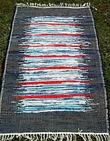 Úžitkový textil - KOBEREC tmavomodrý 70 x 150 cm - 6366928_